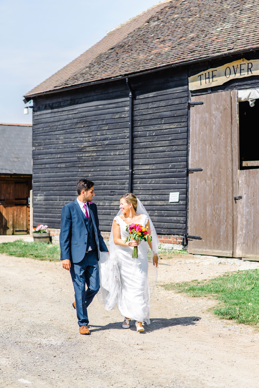 Over Barn wedding