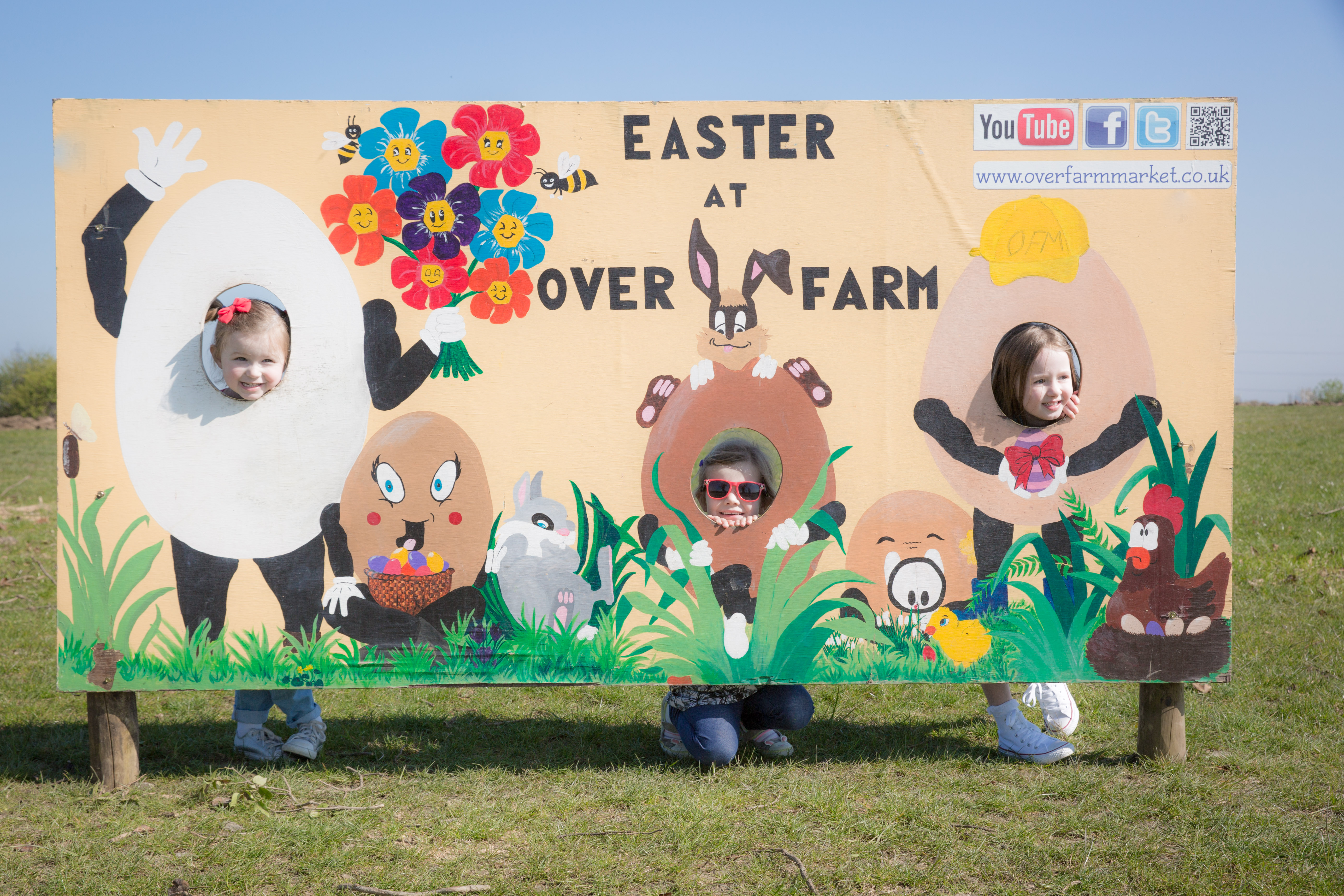 Easter at Over Farm